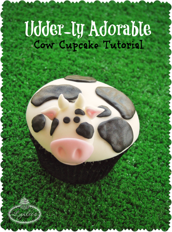 Udder-ly Adorable Cow Cupcake Tutorial