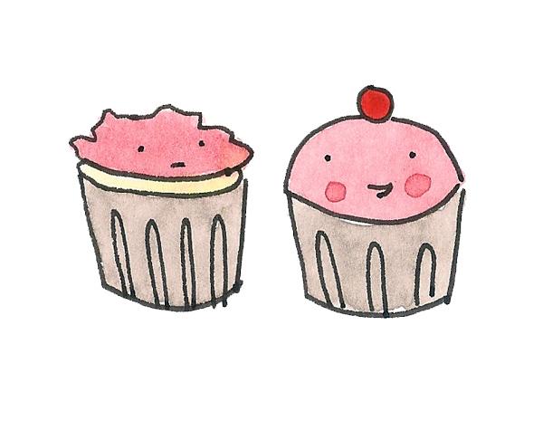 Cupcakes in art