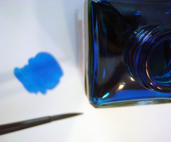 Concentrated watercolor