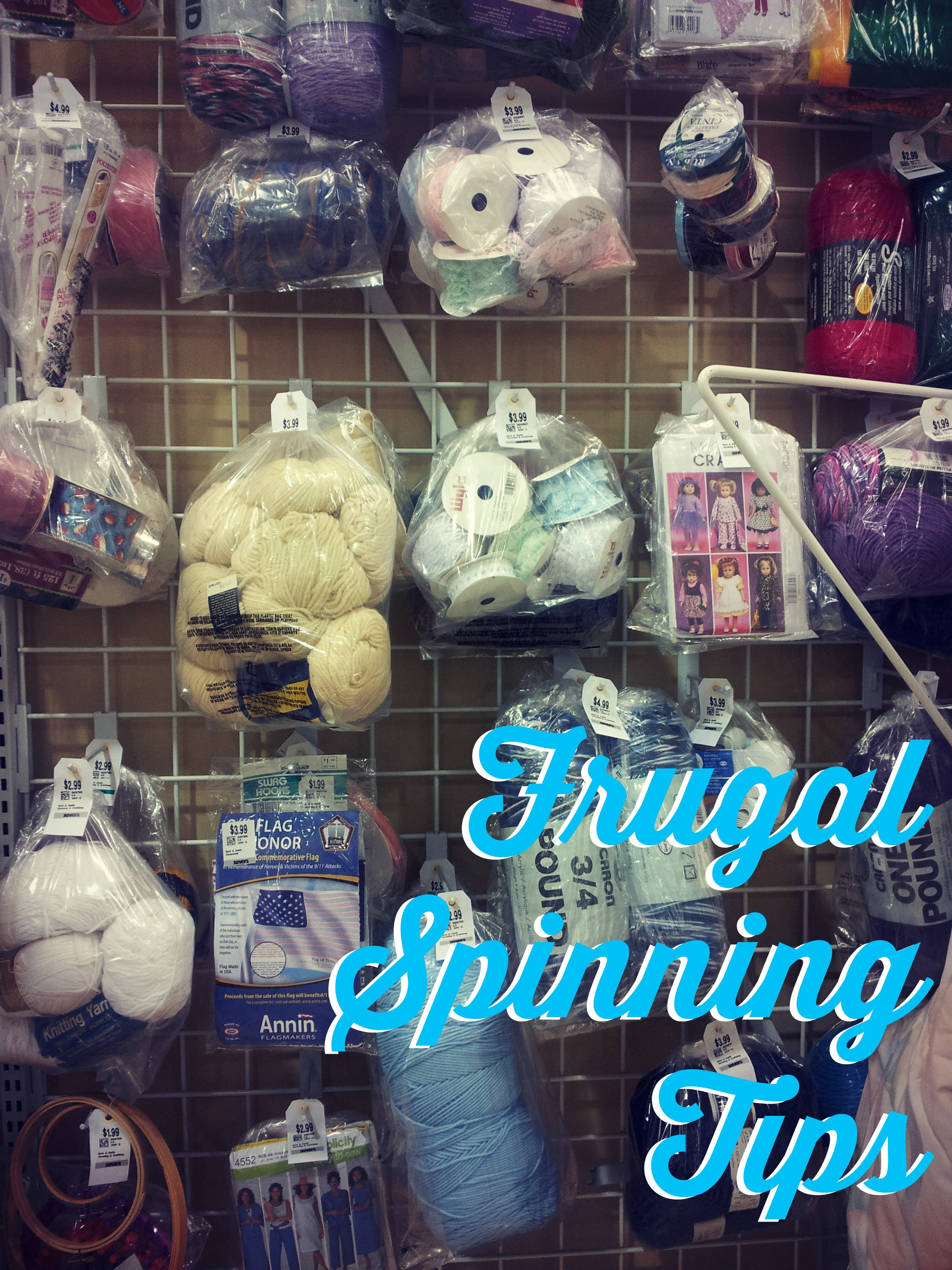 Title Image: Frugal Spinning Tips