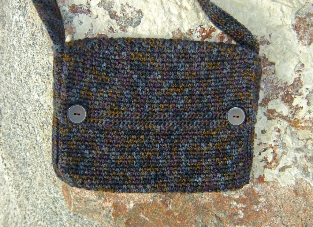Sticks & Stones crochet bag