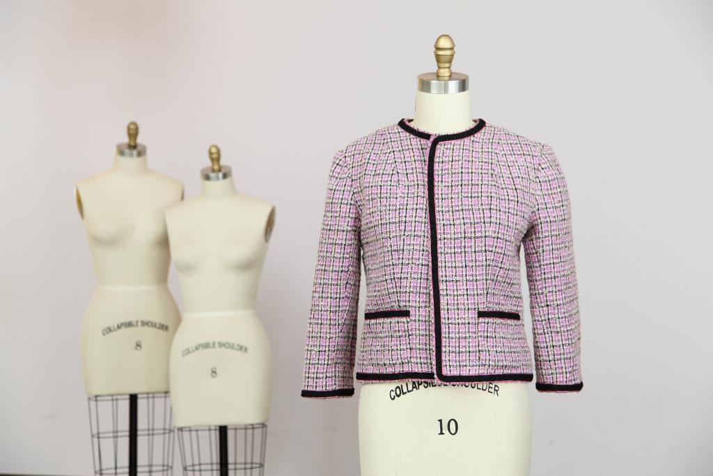 Iconic tweed jacket sewing project