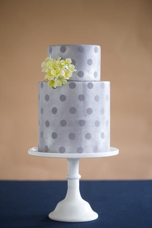 Sparkle cake with matte details