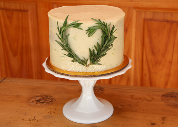 Wonderful rosemary cake with figs on Bluprint!