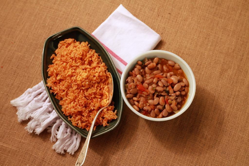beans with rice