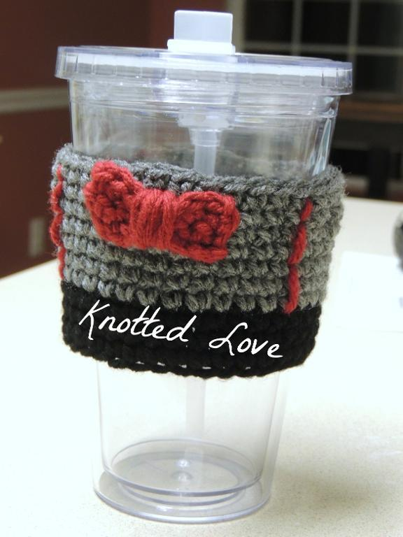 11th Doctor Who crochet cup cozy