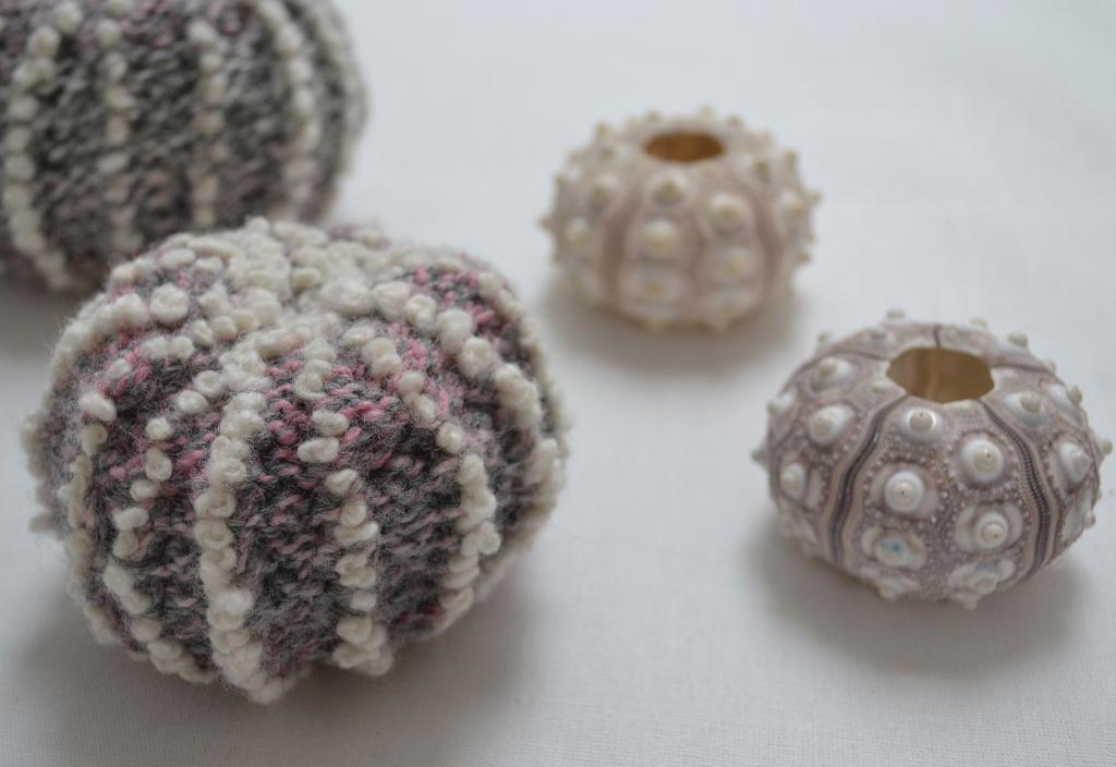 Sea Urchin Shell Knitting Pattern