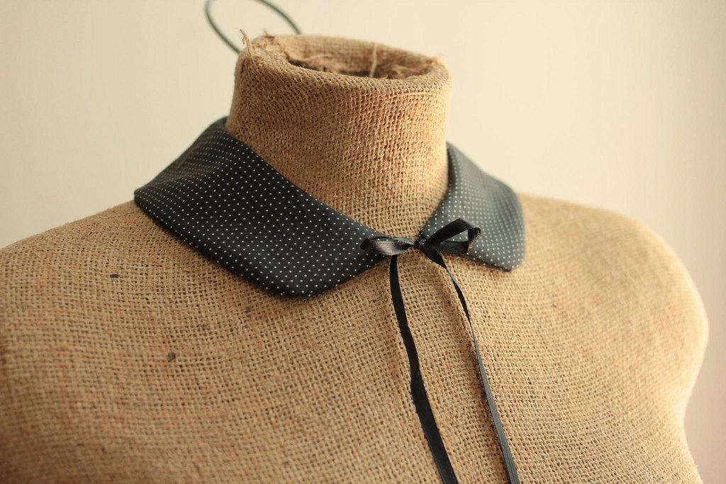 Mini Peter Pan collar sewing pattern