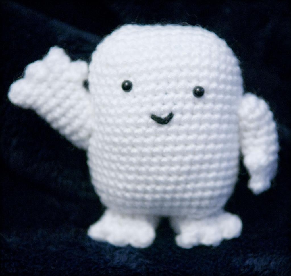 Doctor Who Adipose crochet pattern