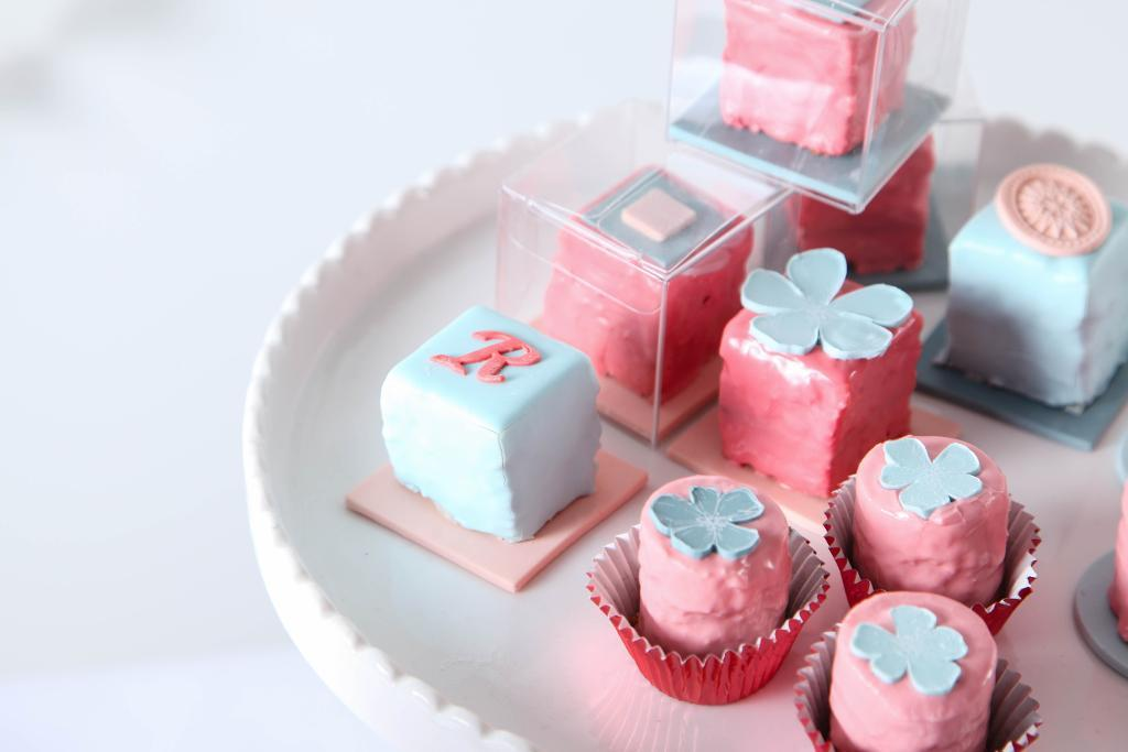 Delicate Petits Fours on Bluprint