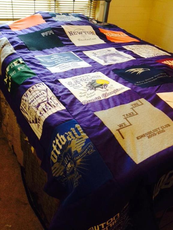 school t shirt quilt