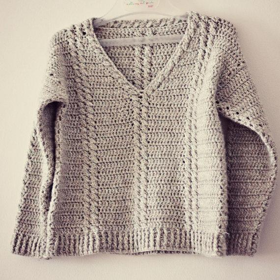 Baby Toddler Cable Sweater