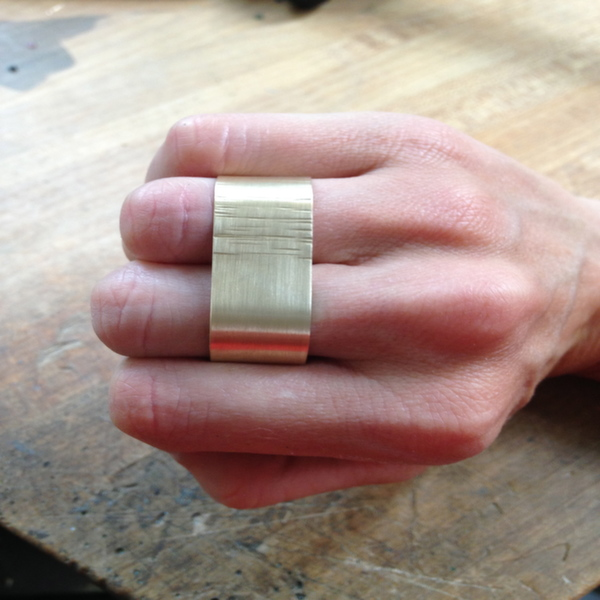 How to Make a Two-Finger Ring