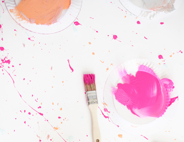 Splattering Paint