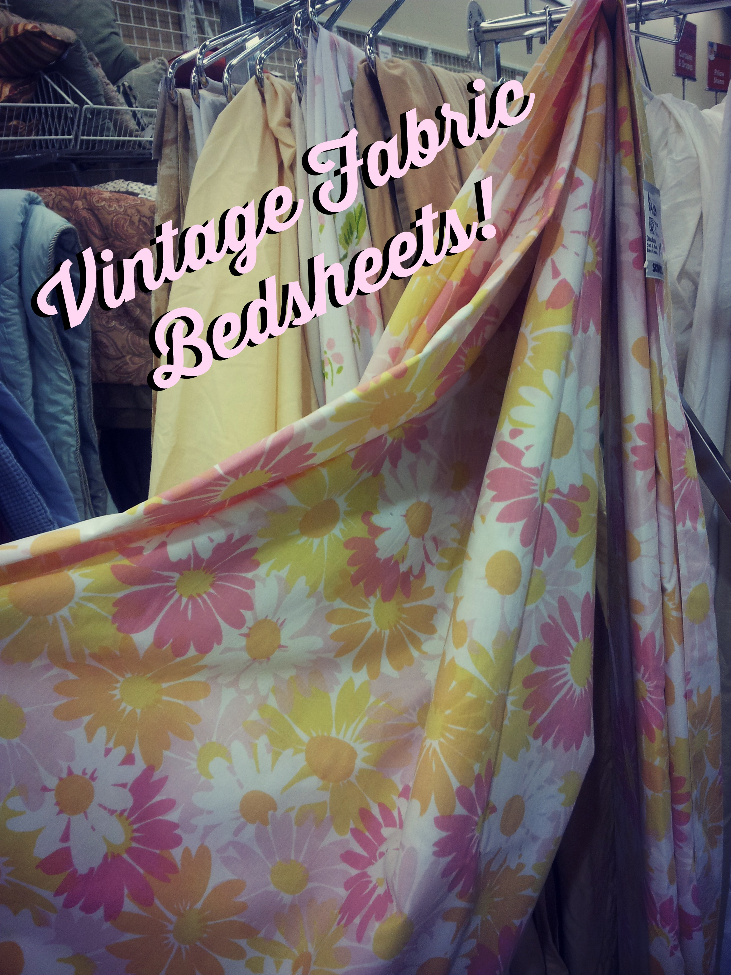 Vintage Fabric Bedsheets