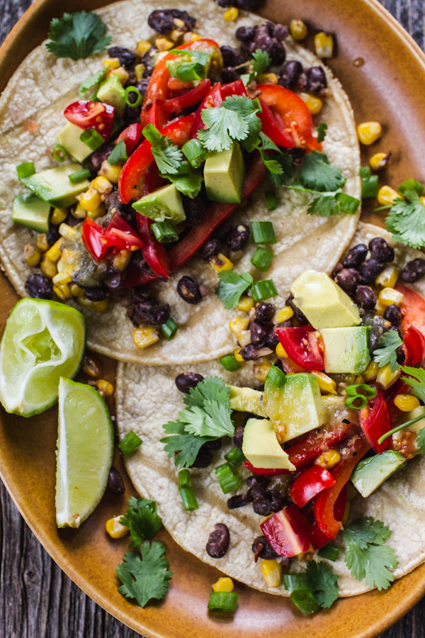 Simple Vegan Tacos