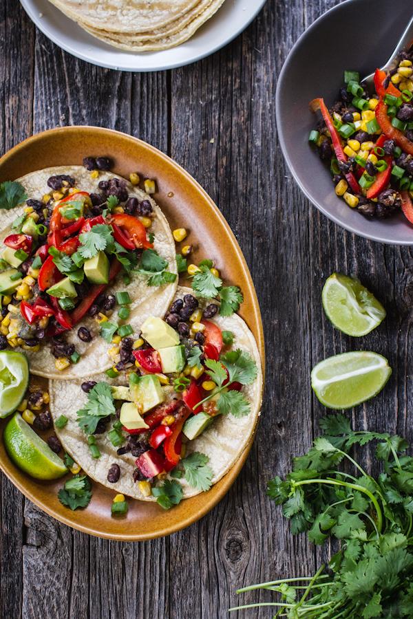 Vegan Taco Setup