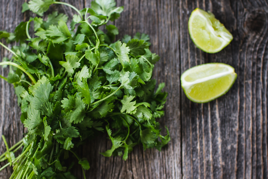 Cilantro and Lime