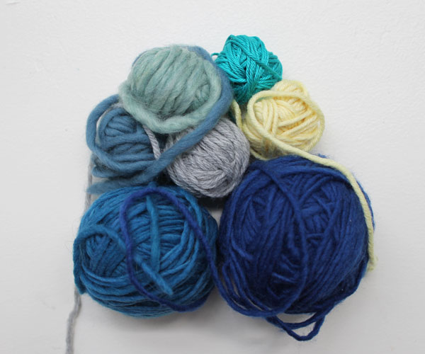 Yarn textures and ply