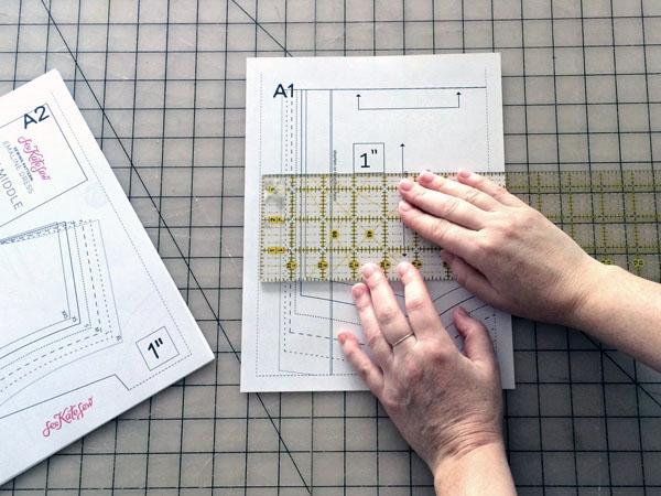 measure the test square