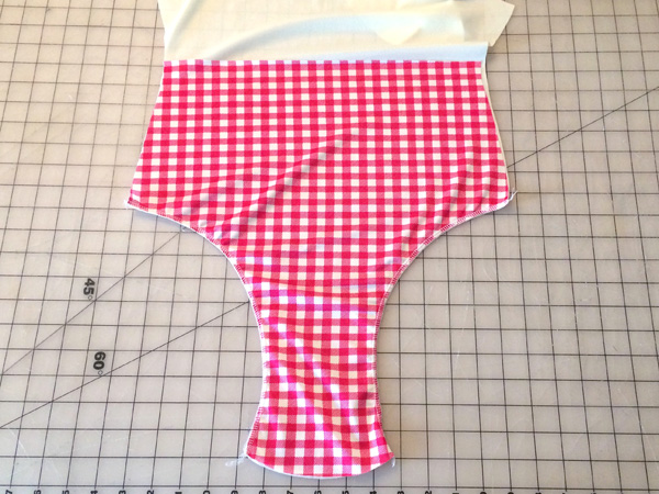 sew legs on front