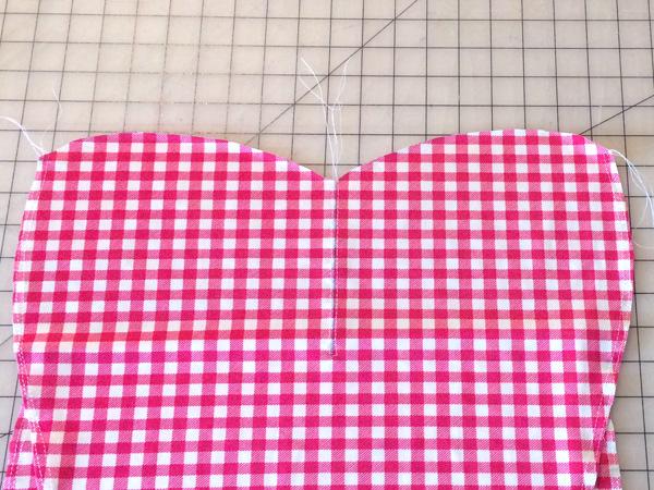 sew front baste stitches