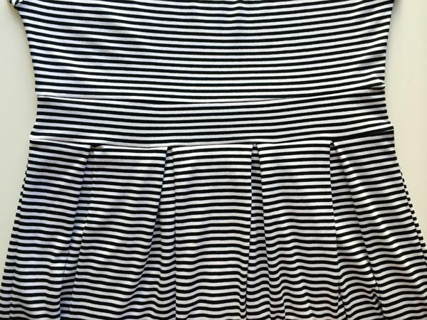 finished pleats