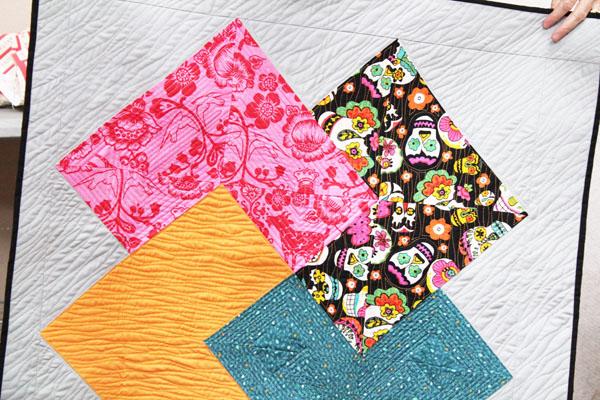 Card Trick one-block quilt by Sandy Glynn - Las Vegas Modern Quilt Guild