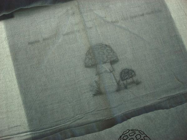 mushroom pattern transfer