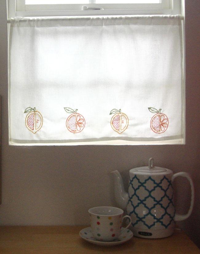 Citrus curtains