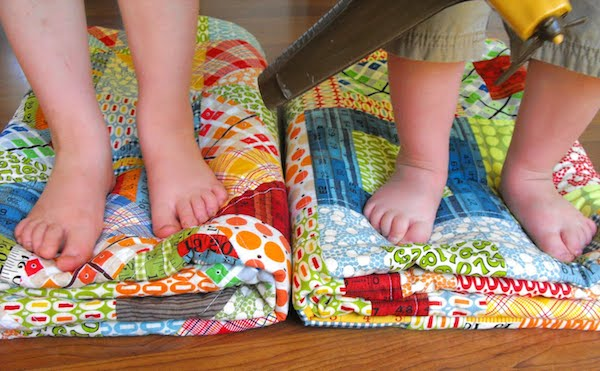 Boy Quilts by Fussycut