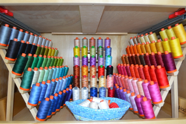 Colorful Collection of Thread for Sewing