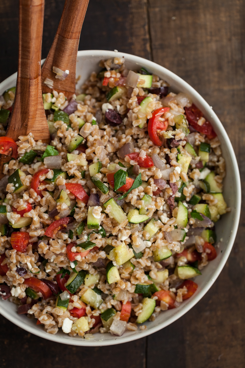 Grilled Zucchini and Farro Salad (4 of 5)
