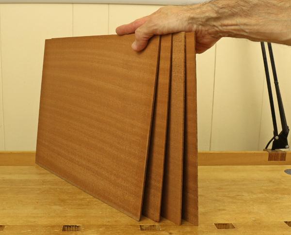 thick veneer