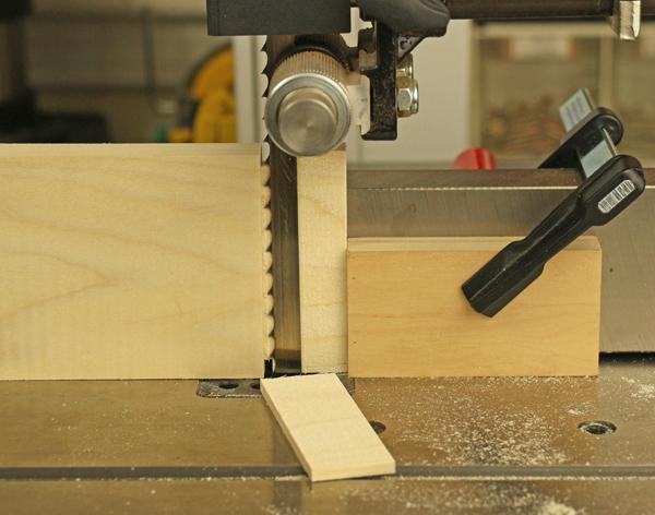 bandsaw tenon cut