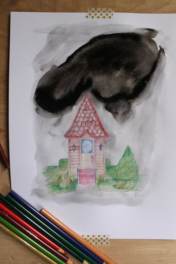 Ink wash #2