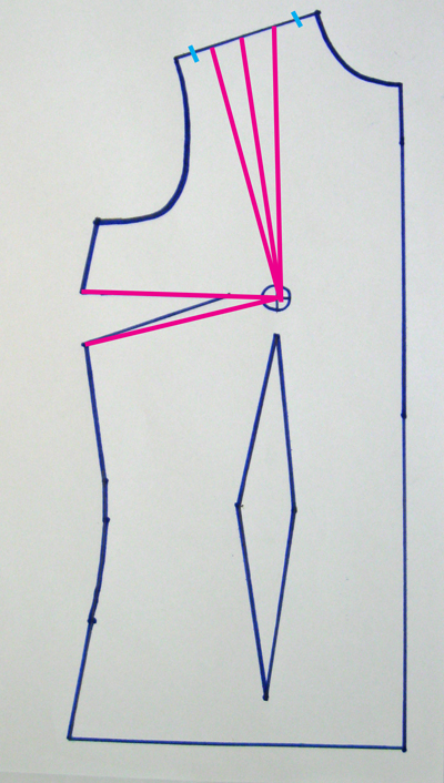 slash lines on pattern