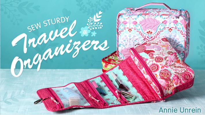 Sew Sturdy: Travel Organizers