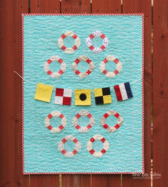 Nautical Quilt by Sew Luxe