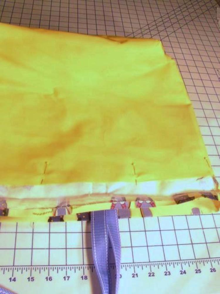 Step 8 adding lining