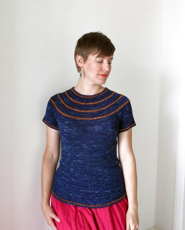 Tiye sweater knitting pattern