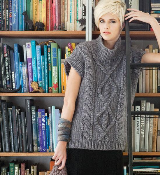 Cap Sleeve Tunic knitting pattern