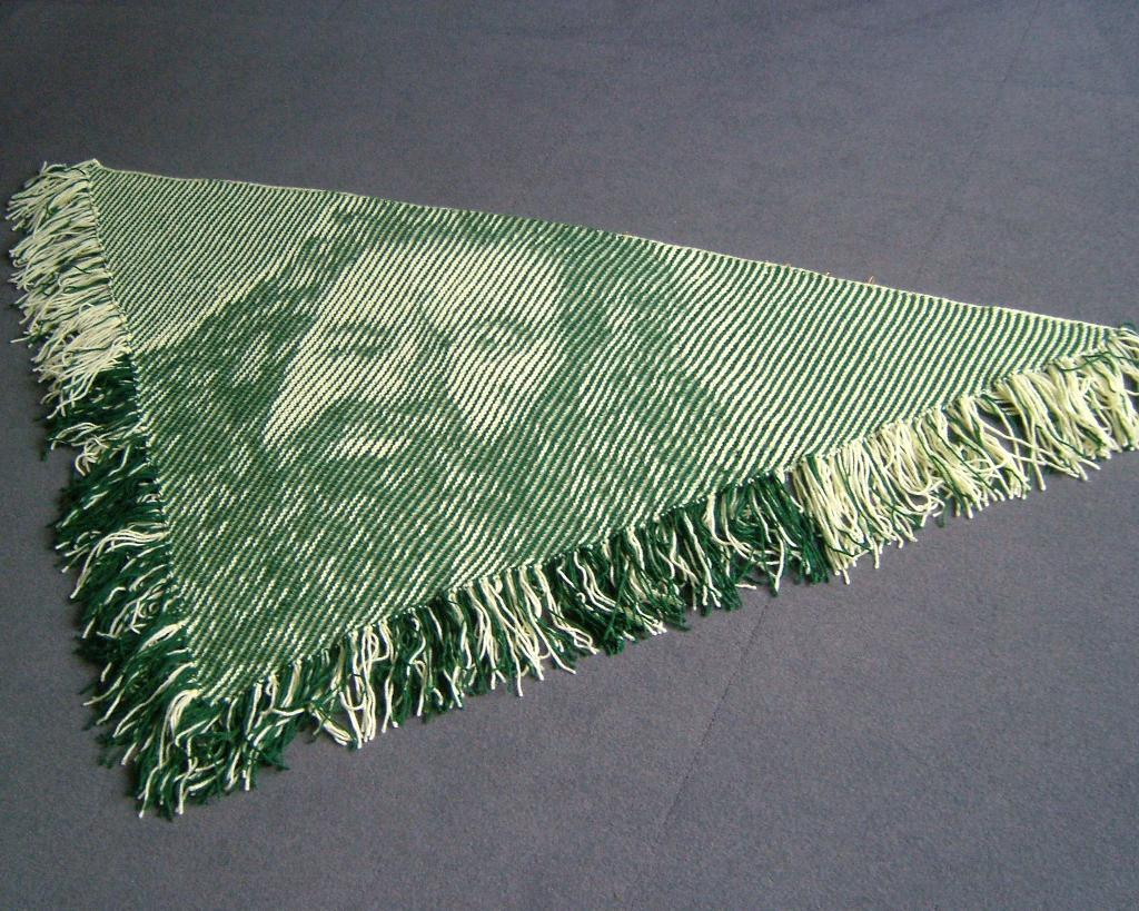 Hagrid Illusion knitting shawl pattern