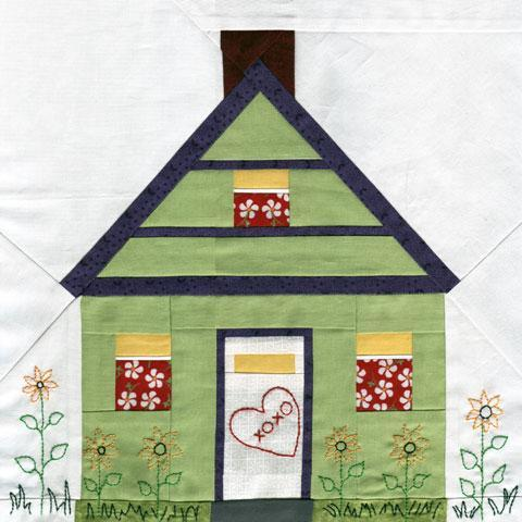 Home And Hearth Paper-Pieced Quilt Design on Bluprint!