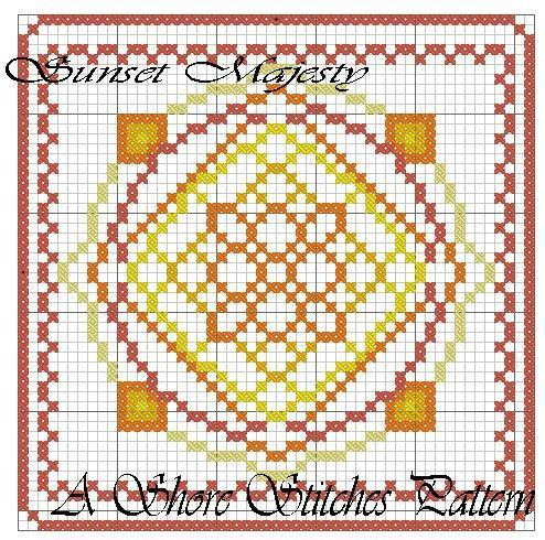 Sunset Majesty Embroidery — FREE Pattern