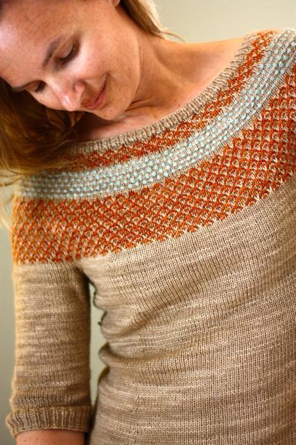 Yukiya Colorwork Yoke Pullover knitting pattern