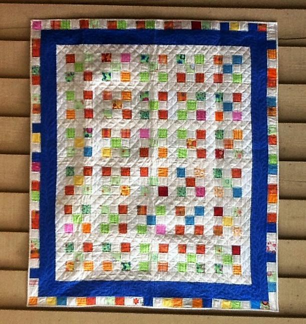 ScrappyNinePatchQuilt