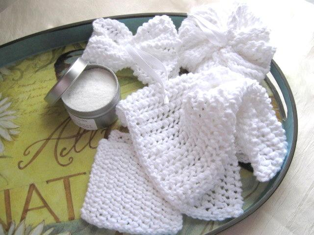 Knitted Ridge Line spa set