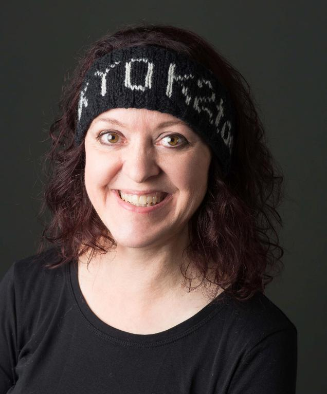 Geek headband knitting pattern