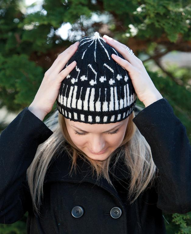 Knitted Musica hat
